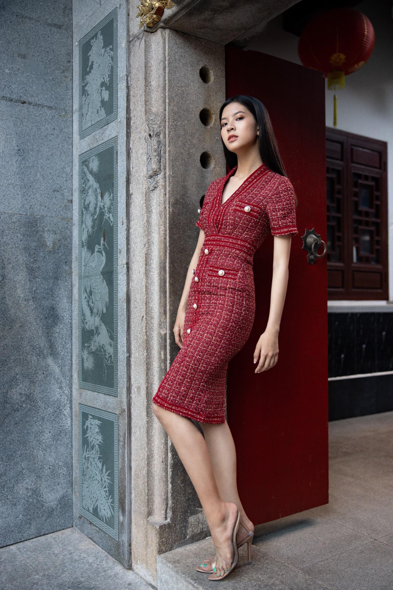 Gợi ý 8 mẫu váy đỏ đẹp cực phẩm, biến nàng trở thành tiêu điểm từ tiệc tất niên cho tới buổi du xuân đầu năm - Ảnh 5.