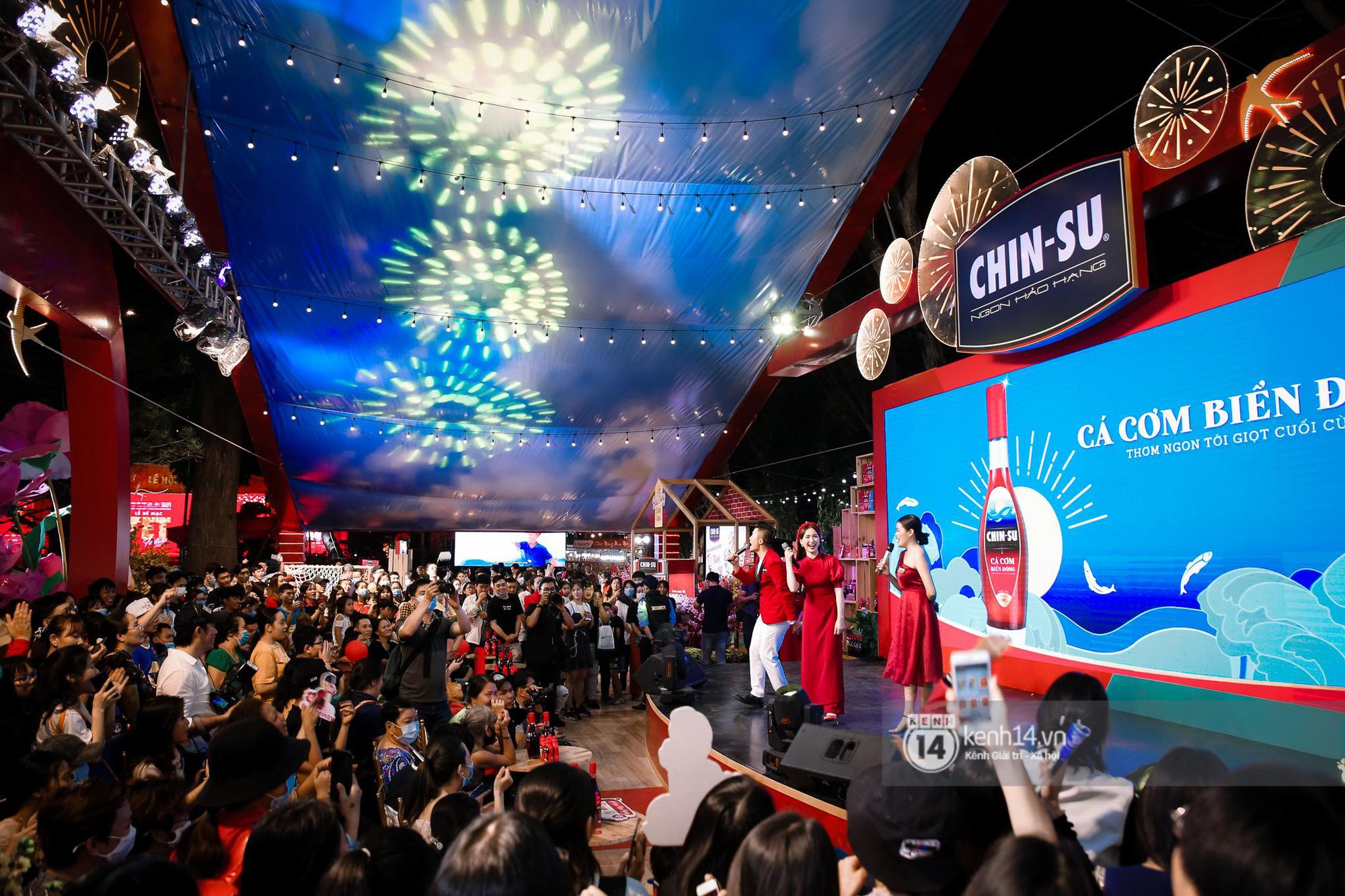 Fan Hòa Minzy bơi hết vào đây, xem idol đột kích Lễ hội Tết Việt và ngàn trải nghiệm wow chưa từng có! - Ảnh 6.