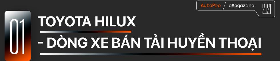 Toyota Hilux mới - Khi 'giá trị cốt lõi' khoác áo mới - Ảnh 1.