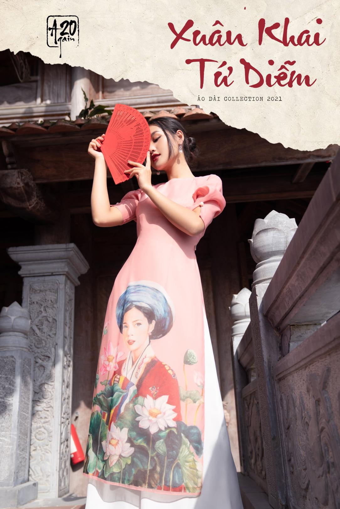 Thời trang 20AGAIN: Cùng xu hướng áo dài cách tân đón xuân mới 2021 - Ảnh 1.