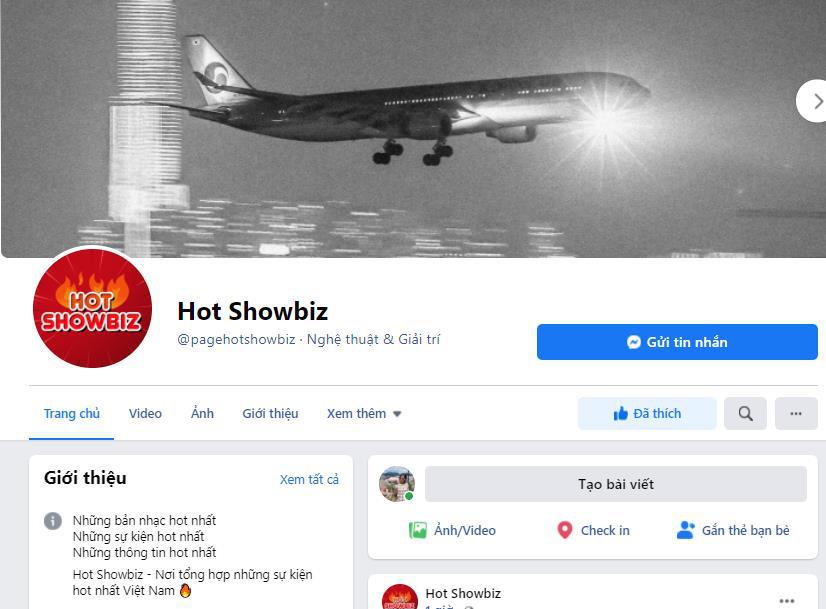 """Hot showbiz - Fanpage chuyên cập thật thông tin """"nóng"""" theo cách đặc biệt nhất - Ảnh 1."""