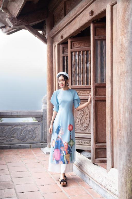 Thời trang 20AGAIN: Cùng xu hướng áo dài cách tân đón xuân mới 2021 - Ảnh 3.