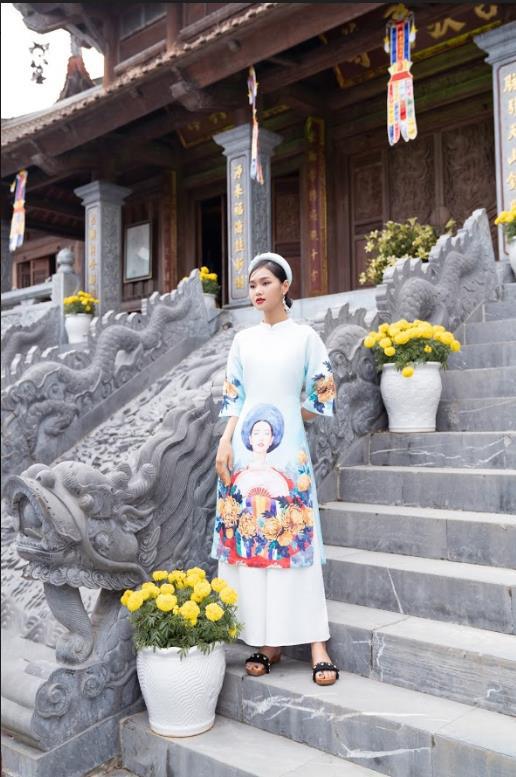 Thời trang 20AGAIN: Cùng xu hướng áo dài cách tân đón xuân mới 2021 - Ảnh 4.