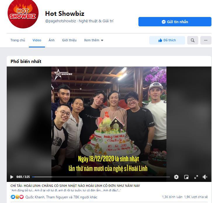 """Hot showbiz - Fanpage chuyên cập thật thông tin """"nóng"""" theo cách đặc biệt nhất - Ảnh 4."""