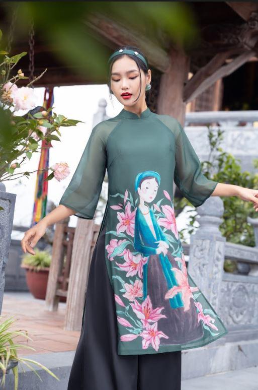 Thời trang 20AGAIN: Cùng xu hướng áo dài cách tân đón xuân mới 2021 - Ảnh 7.