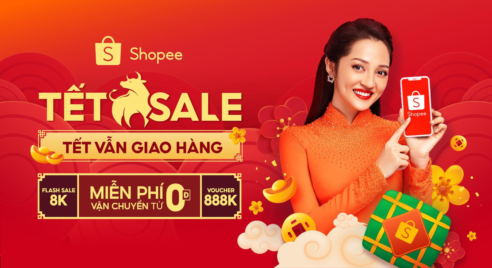 Đại tiệc giảm giá lên đến 50%++ tại ngày hội Shopee Tết Sale 2021 - Ảnh 8.