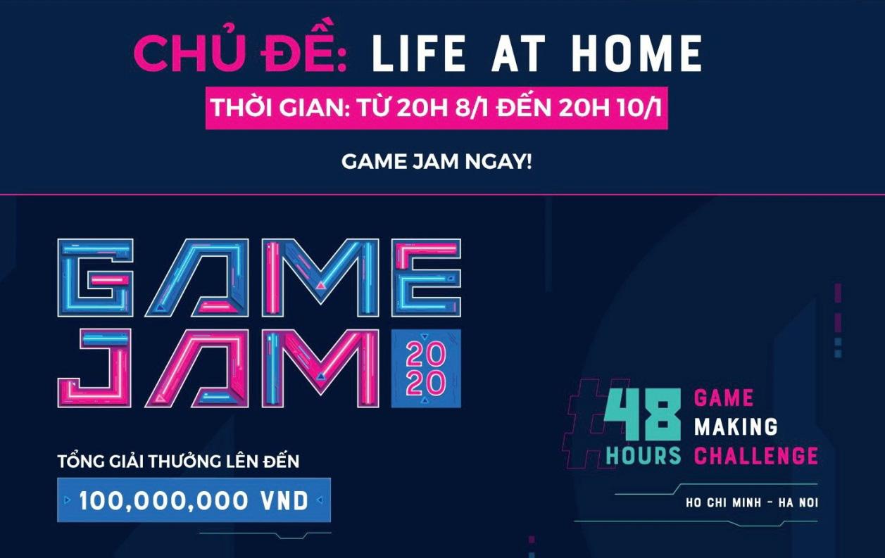 """Với chủ đề """"Life at home"""", nhiều ý tưởng đột phá ra đời tại Game Jam 2020 - Ảnh 1."""