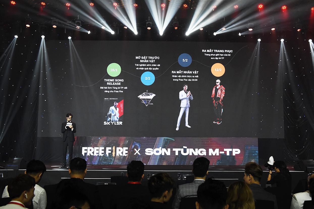 Free Fire hợp tác cùng Sơn Tùng M-TP cho ra mắt nhân vật Việt Nam đầu tiên - Skyler trên toàn thế giới - Ảnh 3.