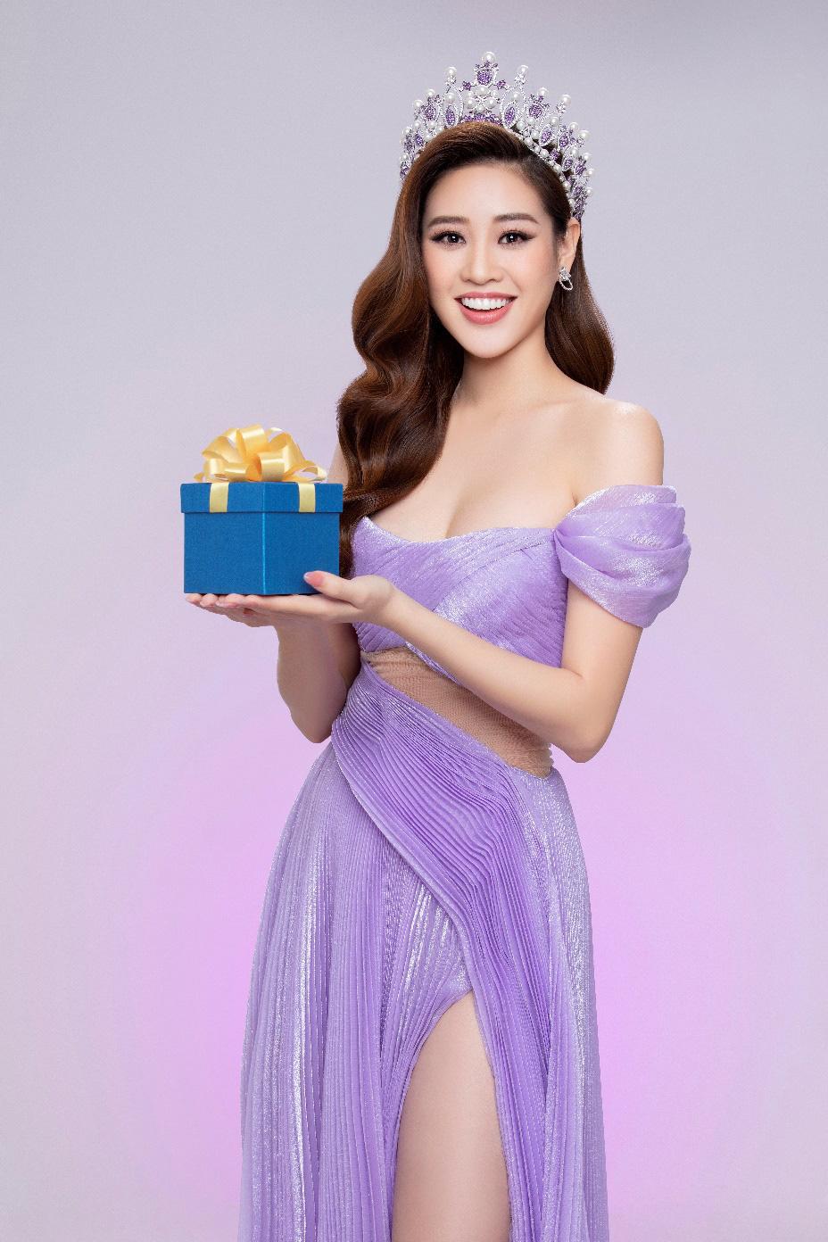 """Hoa hậu Khánh Vân sau 1 năm đăng quang: Nhan sắc thăng hạng, sẵn sàng để """"chinh chiến"""" Miss Universe 2020 - Ảnh 2."""