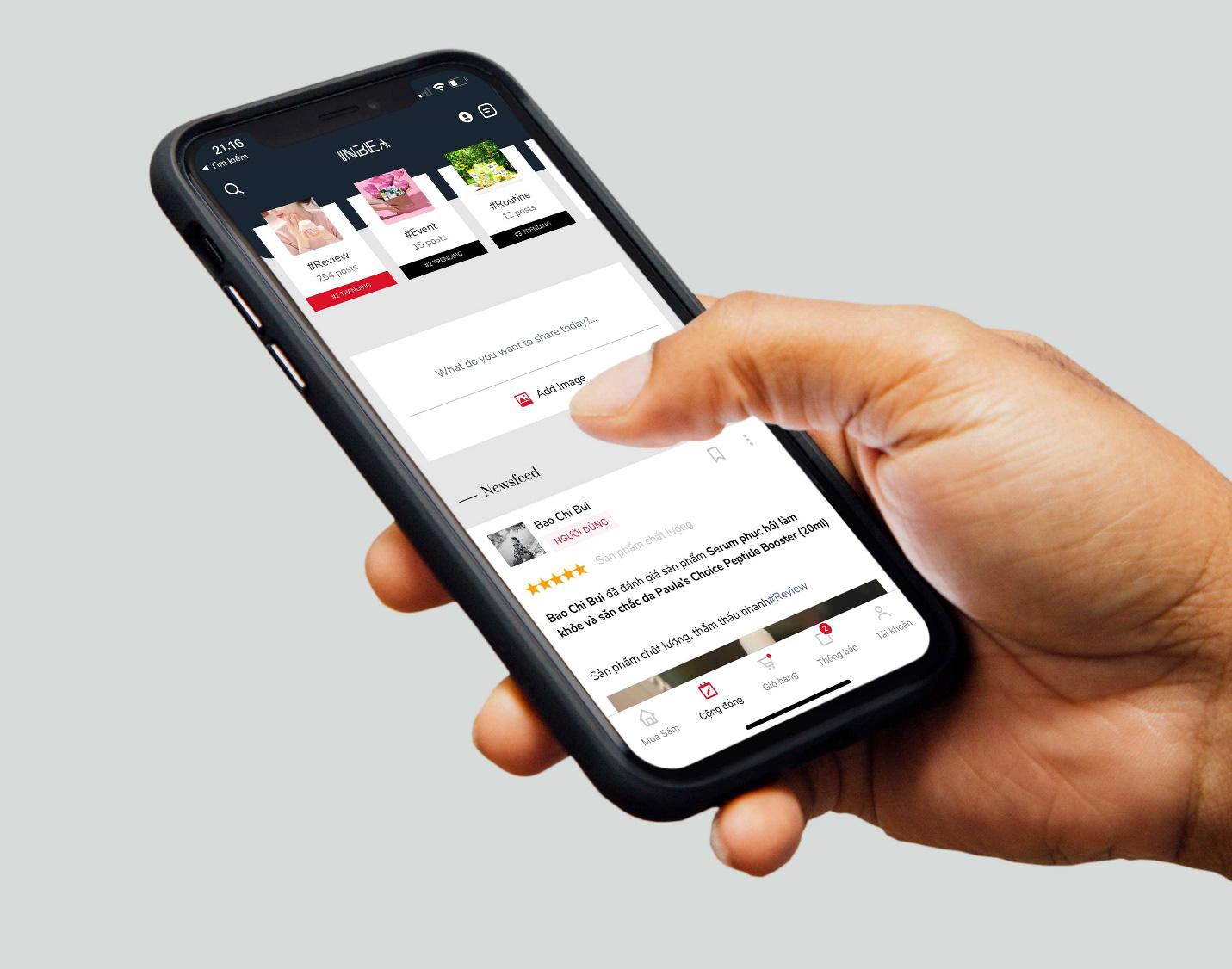 Dùng thử Inbea - Ứng dụng giúp hoàn tiền mặt đến 20% khi mua sắm mỹ phẩm: Có nhiều ưu đãi và tiện ích đến không ngờ - Ảnh 4.