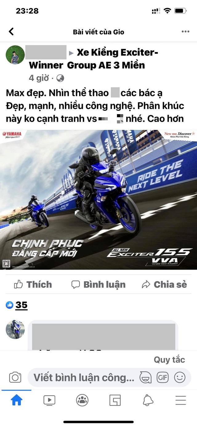 Yamaha Exciter 155 VVA gây siêu bão càn quét các mạng xã hội Việt Nam và Đông Nam Á - Ảnh 3.