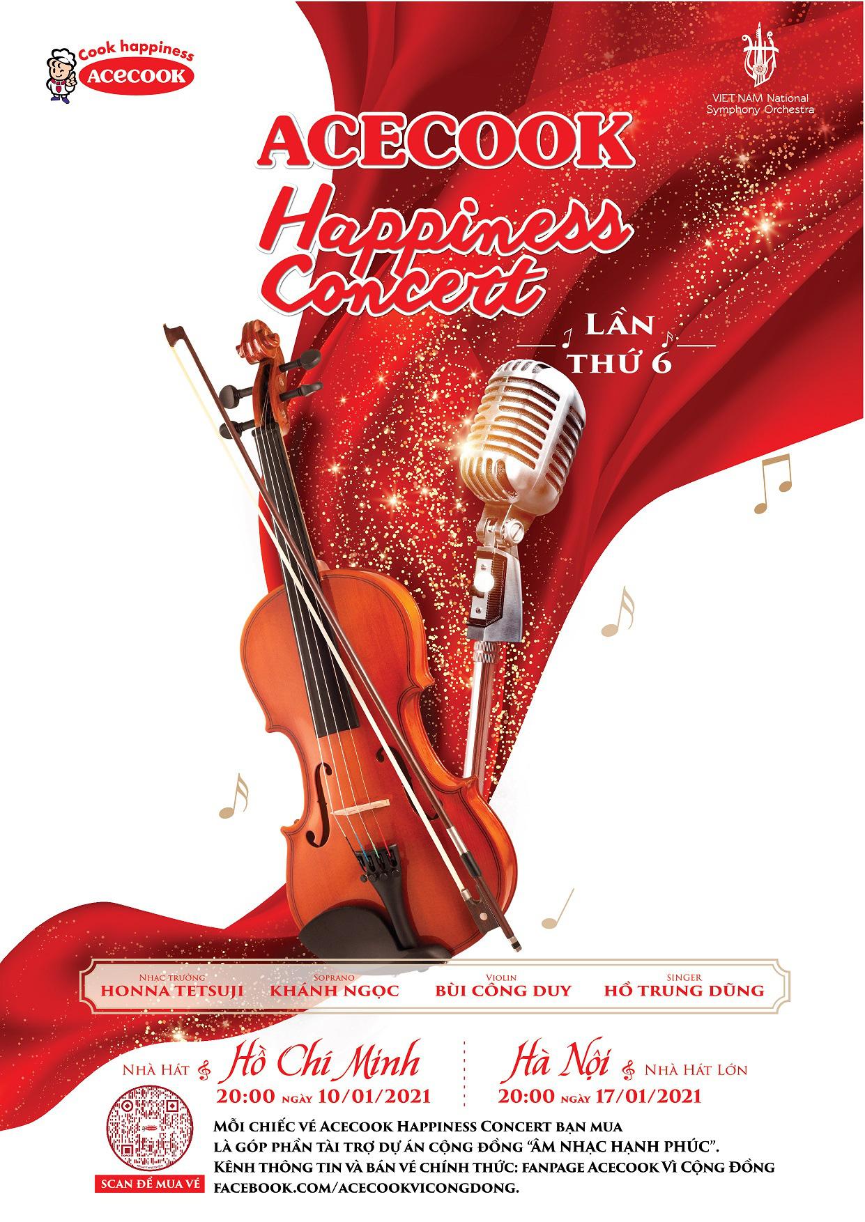 """Hồ Trung Dũng lần đầu """"hòa nhạc hạnh phúc"""" cùng giọng ca Opera Khánh Ngọc - Ảnh 1."""