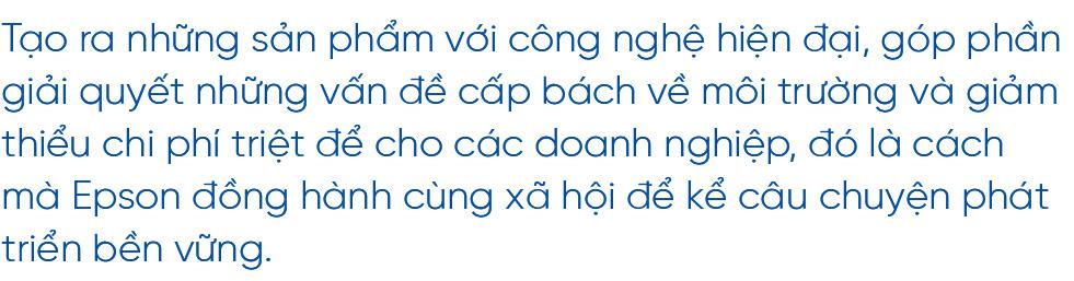 """CEO Epson Việt Nam: """"Chúng tôi đồng hành cùng doanh nghiệp Việt Nam hướng đến phát triển bền vững"""" - Ảnh 1."""