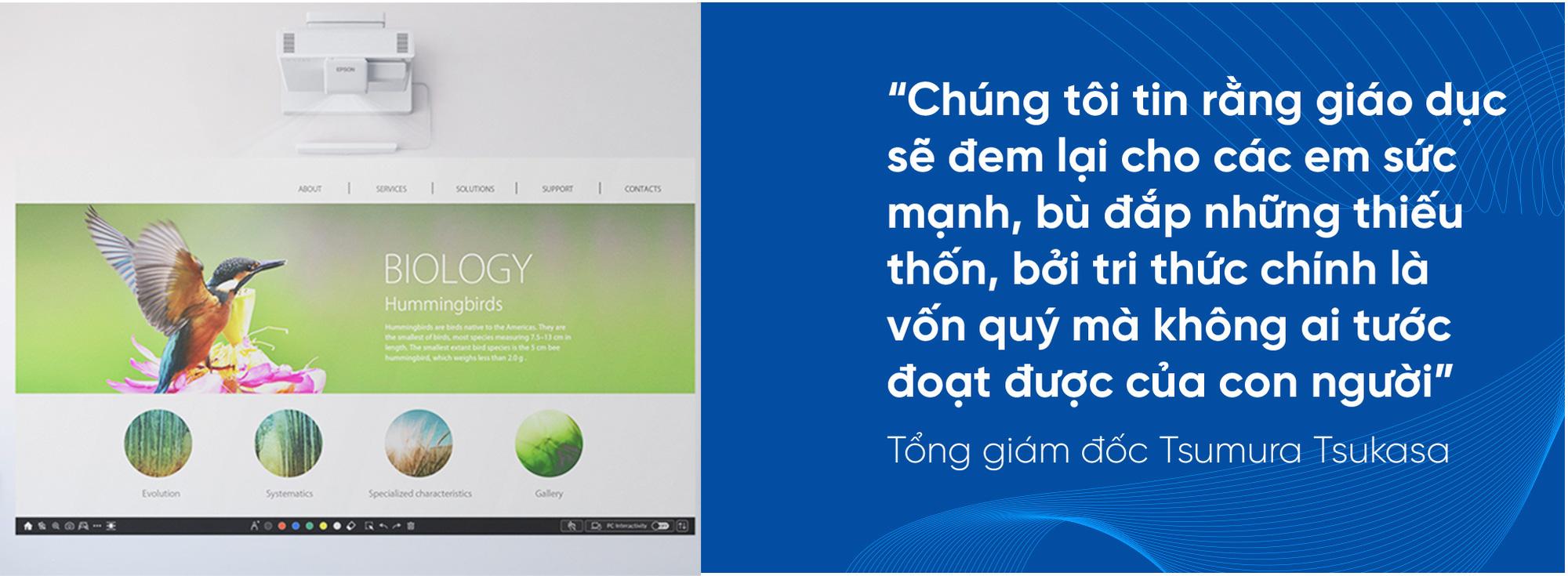 """CEO Epson Việt Nam: """"Chúng tôi đồng hành cùng doanh nghiệp Việt Nam hướng đến phát triển bền vững"""" - Ảnh 2."""