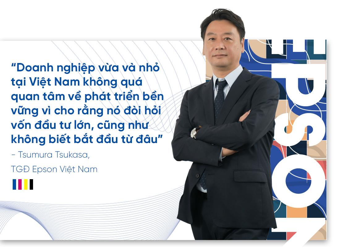 """CEO Epson Việt Nam: """"Chúng tôi đồng hành cùng doanh nghiệp Việt Nam hướng đến phát triển bền vững"""" - Ảnh 5."""