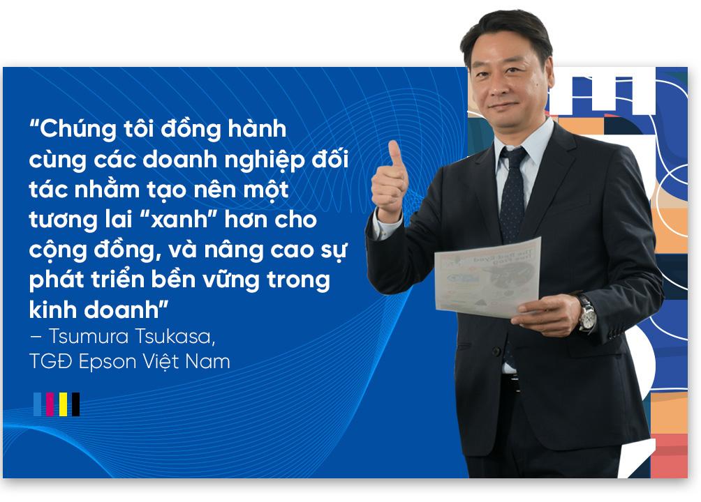 """CEO Epson Việt Nam: """"Chúng tôi đồng hành cùng doanh nghiệp Việt Nam hướng đến phát triển bền vững"""" - Ảnh 7."""