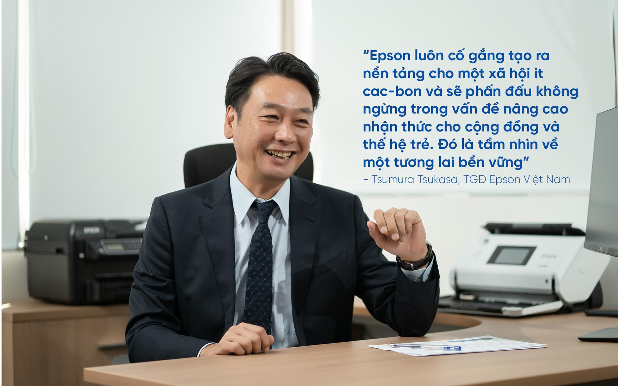 """CEO Epson Việt Nam: """"Chúng tôi đồng hành cùng doanh nghiệp Việt Nam hướng đến phát triển bền vững"""" - Ảnh 11."""