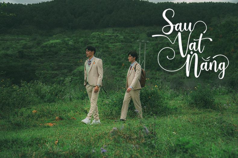 Cặp đôi đam mỹ Sau Vạt Nắng Thái Thanh Nhàn - Huy Du: Xấu hổ mỗi lần diễn cảnh thân mật trong phim - Ảnh 6.