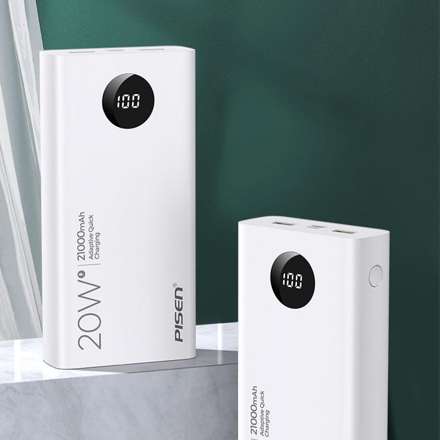 PISEN QUICK 21000mAh (LED) 20W - Tuyệt tác sạc dự phòng cho iPhone 12 - Ảnh 6.