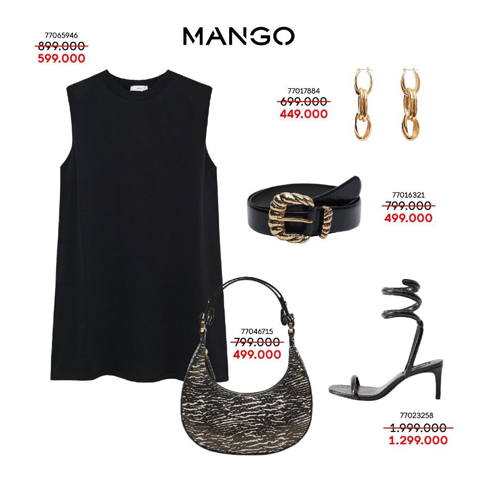 Liên tục thay đổi phong cách với 5 outfits hàng hiệu MANGO cực xịn giá chỉ từ 349K - Ảnh 1.