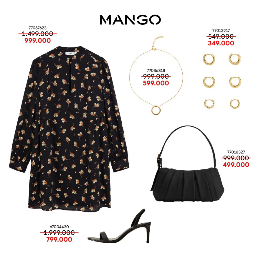 Liên tục thay đổi phong cách với 5 outfits hàng hiệu MANGO cực xịn giá chỉ từ 349K - Ảnh 2.