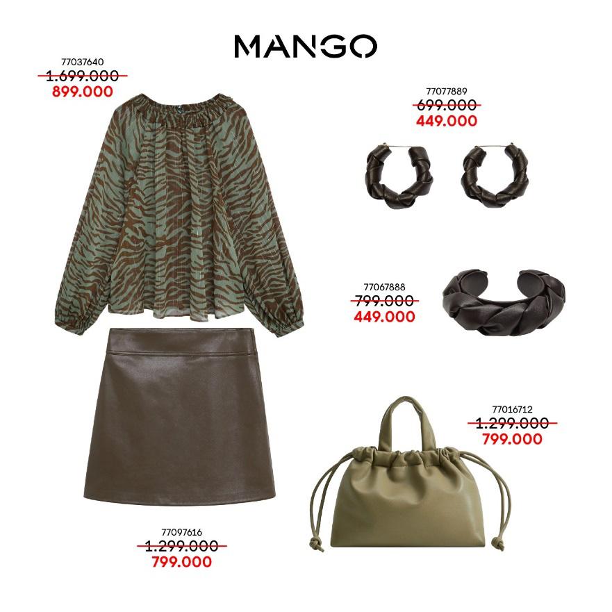 Liên tục thay đổi phong cách với 5 outfits hàng hiệu MANGO cực xịn giá chỉ từ 349K - Ảnh 4.