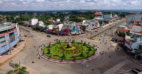 Bình Phước – đô thị vùng biên phát triển bứt phá 2021 - Ảnh 1.