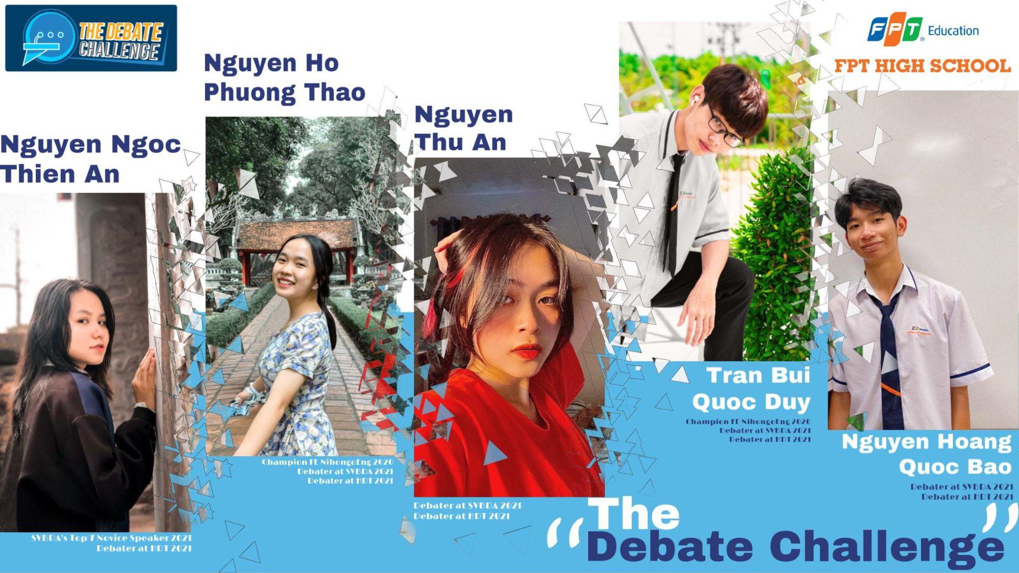 Gặp gỡ các đội thi vòng chung kết của The Debate Challenge 2021 - Ảnh 1.