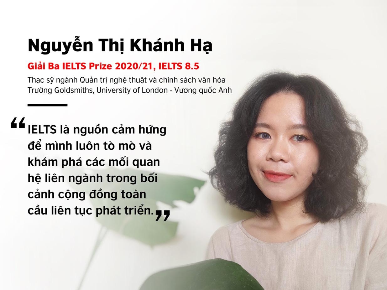 """Gặp gỡ 3 cô gái tài năng vừa """"ẵm trọn"""" học bổng IELTS Prize 2020/21 khu vực Đông Á - Ảnh 3."""