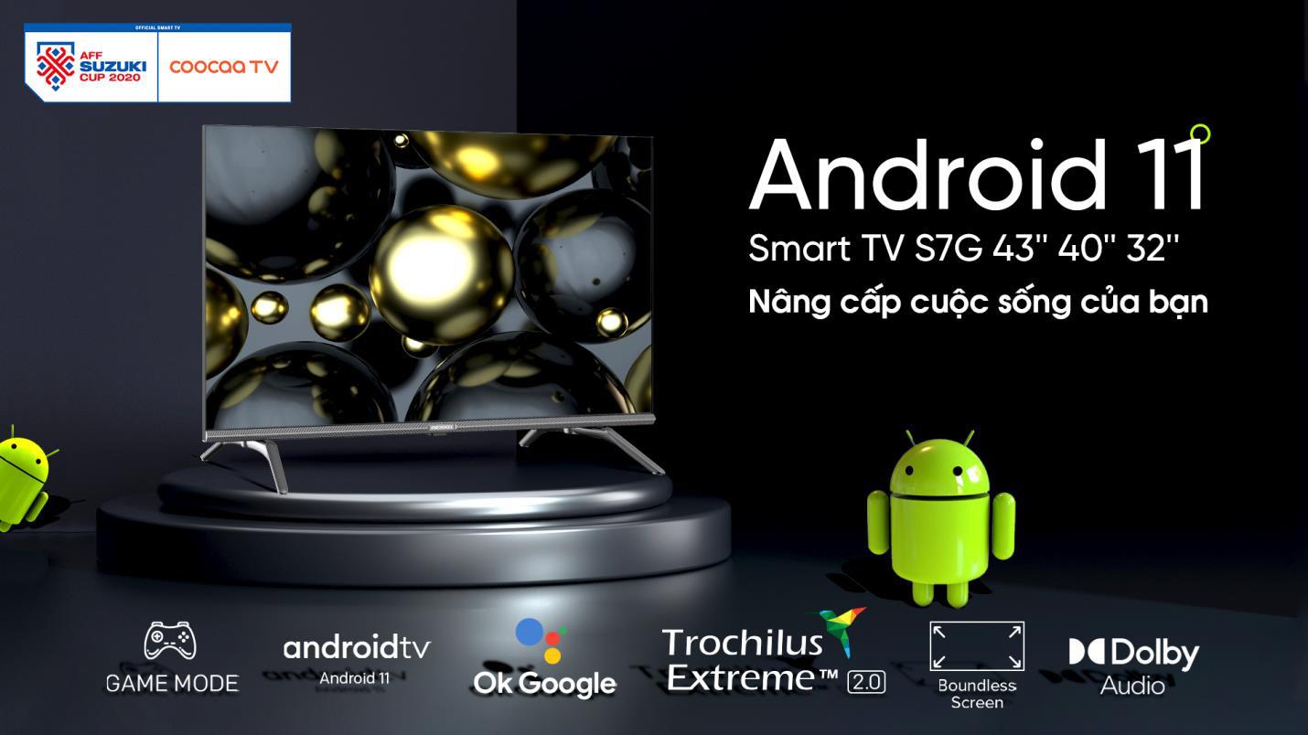 Coocaa TV - Siêu phẩm smart TV đã ra mắt với Android 11 mới nhất - Ảnh 2.