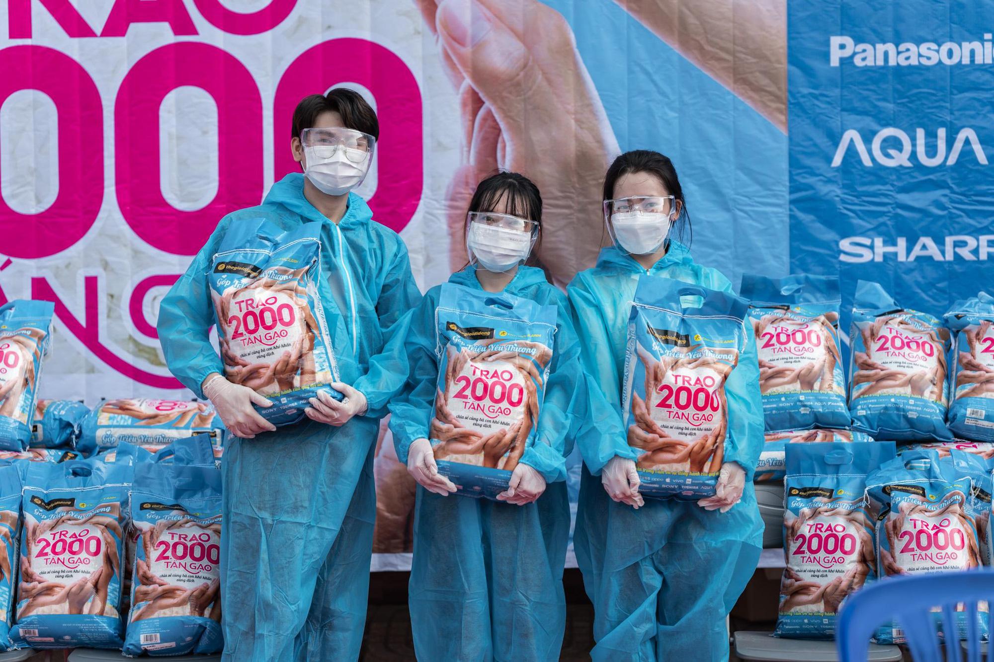 Thế Giới Di Động và Điện máy Xanh trao tặng 2.000 tấn gạo, triệu bữa ăn no - Ảnh 3.