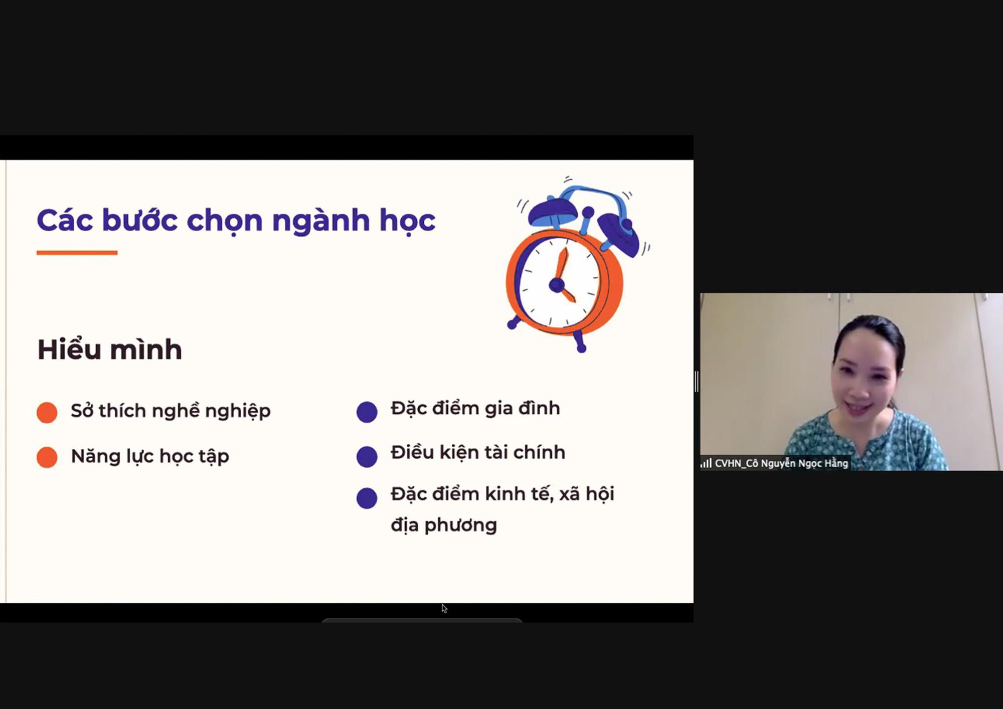 Định hướng nghề nghiệp cho học sinh THPT thành phố Hải Phòng và tỉnh Nghệ An - Ảnh 2.