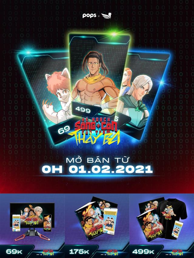 """POPS chính thức """"xuất xưởng"""" bộ truyện tranh đầu tiên về streamer tại Việt Nam - Ảnh 5."""