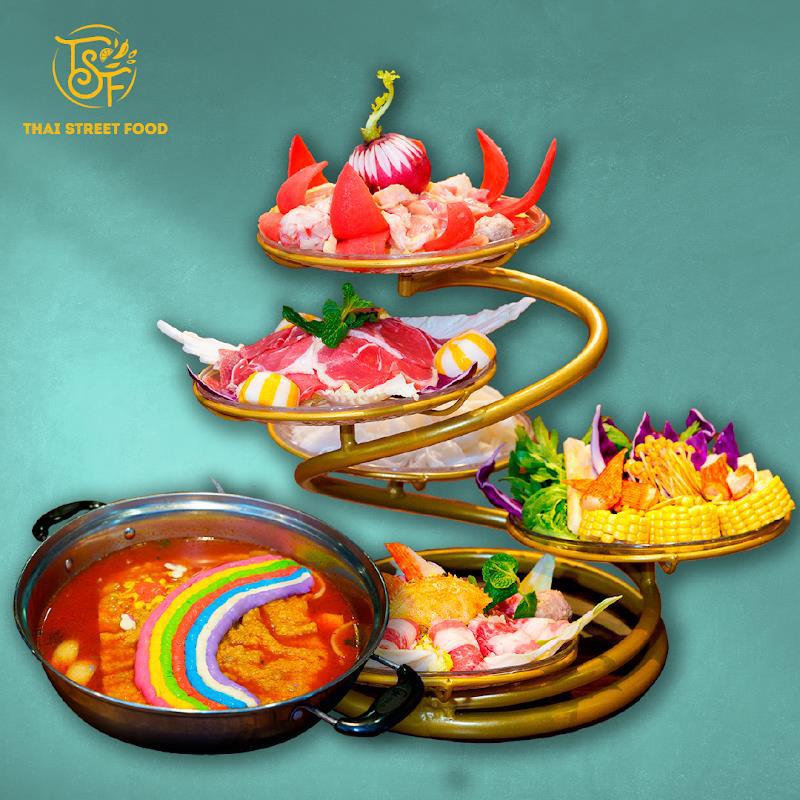 Bật mí ý nghĩa món Lẩu cầu vồng làm xốn xang bao con tim yêu ẩm thực Thái - Ảnh 4.