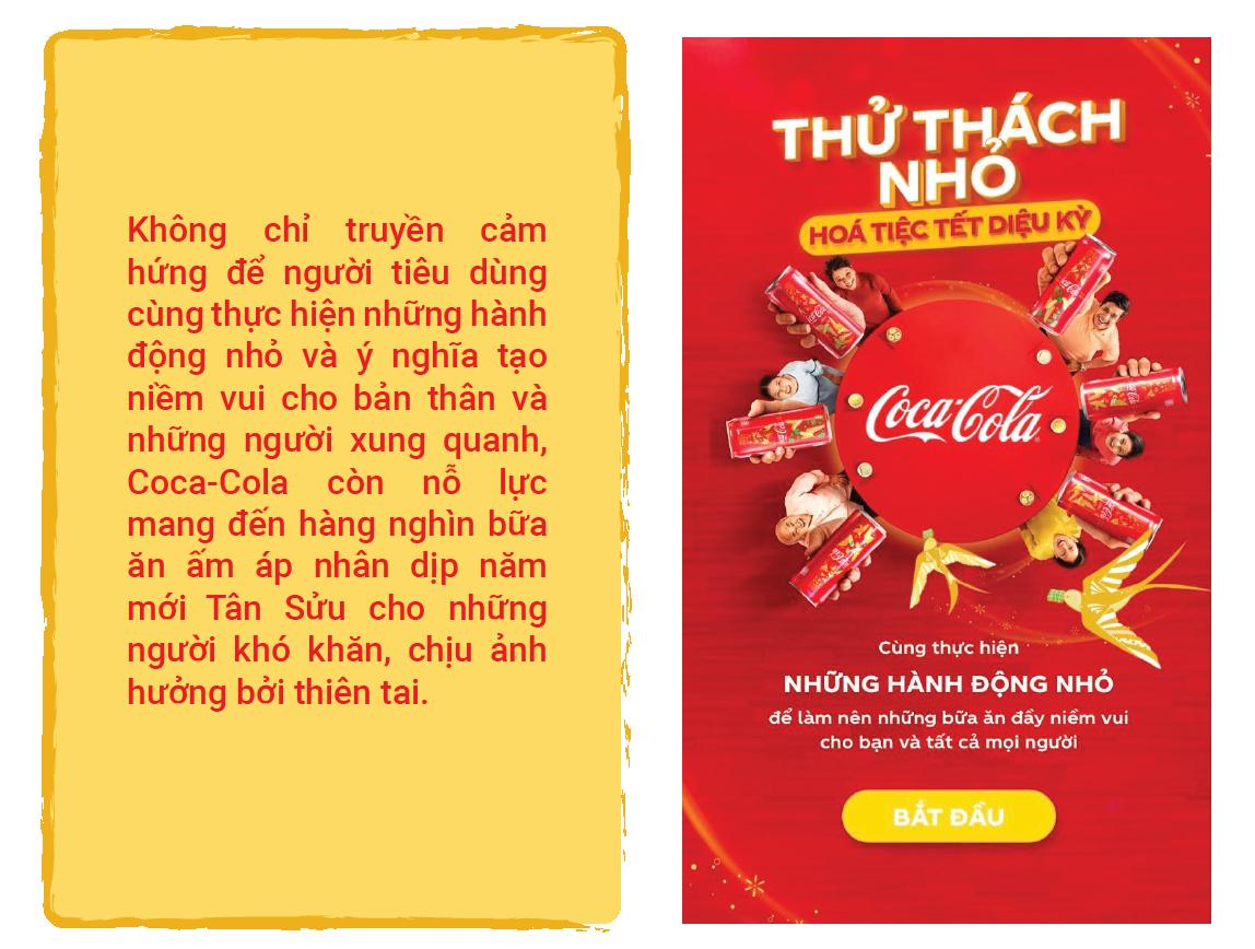 Én vàng, sắc đỏ và hành trình lan toả Tết diệu kỳ của Coca-cola sau năm nhiều biến động - Ảnh 1.