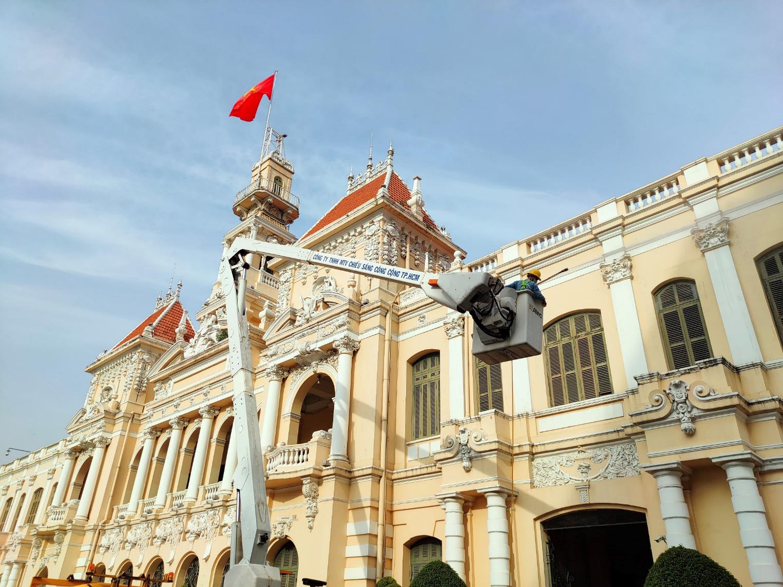 Những người mang hương vị Tết cho Sài Gòn qua ống kính realme 7 - Ảnh 1.