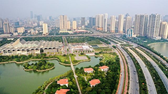 Thị trường căn hộ Tây Hà Nội đầu năm 2021: Sôi động phân khúc cao cấp - Ảnh 1.