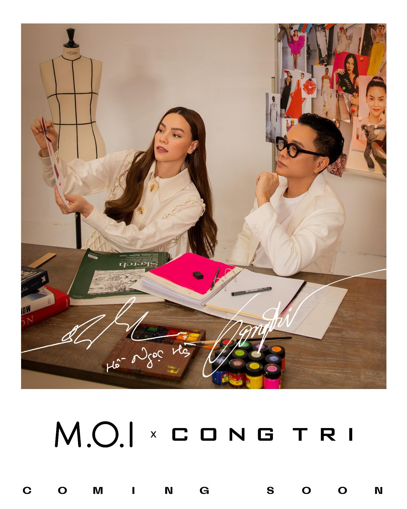 """Sự kết hợp giữa NTK Công Trí và thương hiệu mỹ phẩm Việt M.O.I của Hà Hồ khiến hội chị em mê làm đẹp """"đứng ngồi không yên"""" - Ảnh 3."""