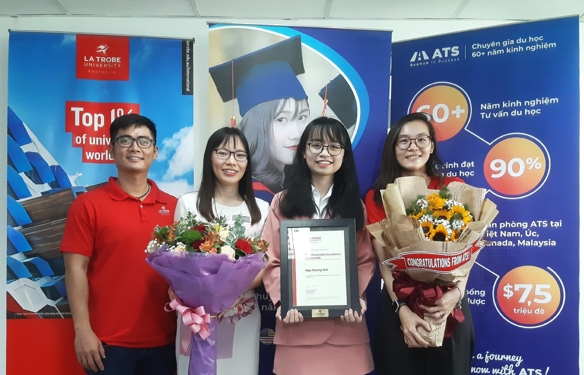 Nữ sinh viên Việt Nam đầu tiên giành học bổng 100% từ Đại học La Trobe Úc - Ảnh 3.