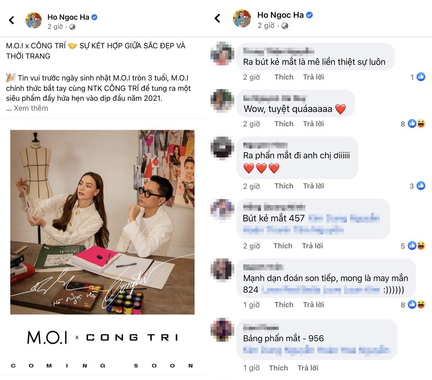 """Sự kết hợp giữa NTK Công Trí và thương hiệu mỹ phẩm Việt M.O.I của Hà Hồ khiến hội chị em mê làm đẹp """"đứng ngồi không yên"""" - Ảnh 4."""