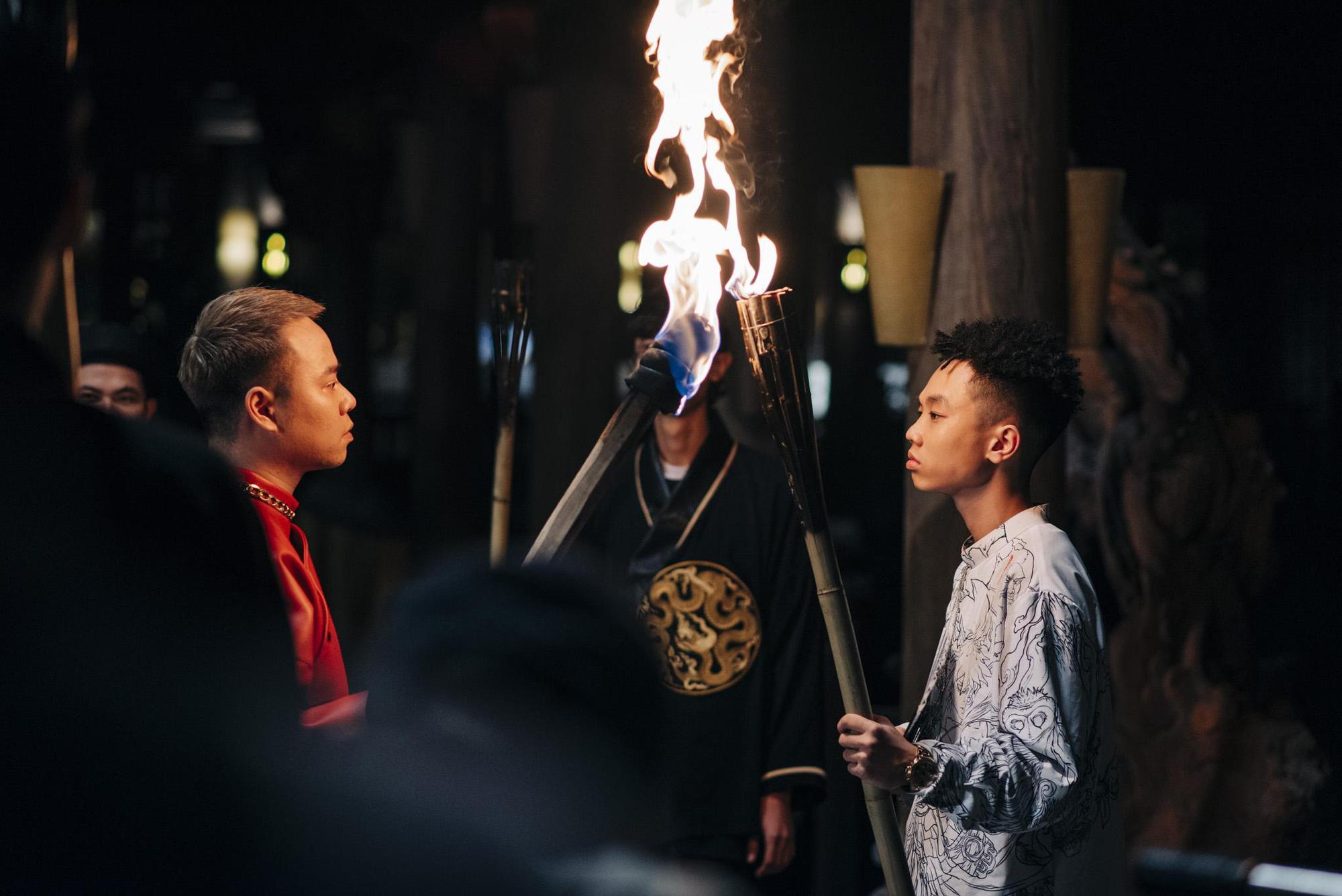 Bình Gold, RichChoi, Chị Cả... góp mặt trong MV Chí Nam Nhi - bản rap ca trù từng khiến cả 4 HLV King Of Rap khen hết lời - Ảnh 5.