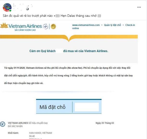 Cư dân mạng háo hức rủ nhau săn vé 88k giá sốc chỉ có ở Vietnam Airlines - Ảnh 2.
