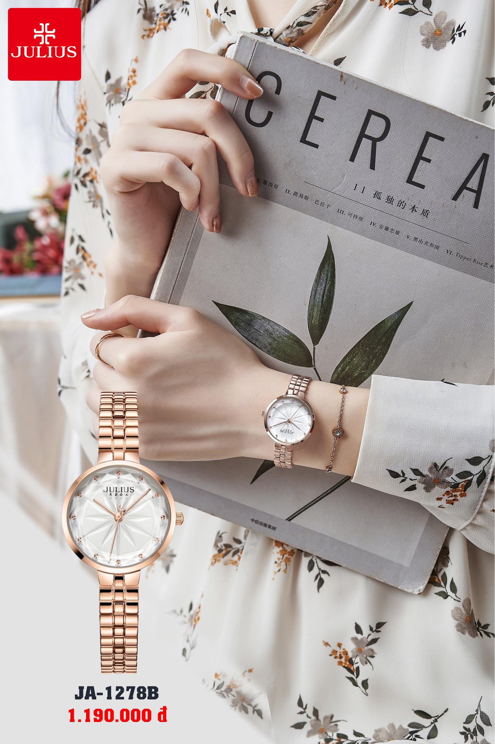 Đồng hồ thời trang Julius đẳng cấp - trao trọn yêu thương cho phái đẹp nhân ngày 8/3 - Ảnh 1.