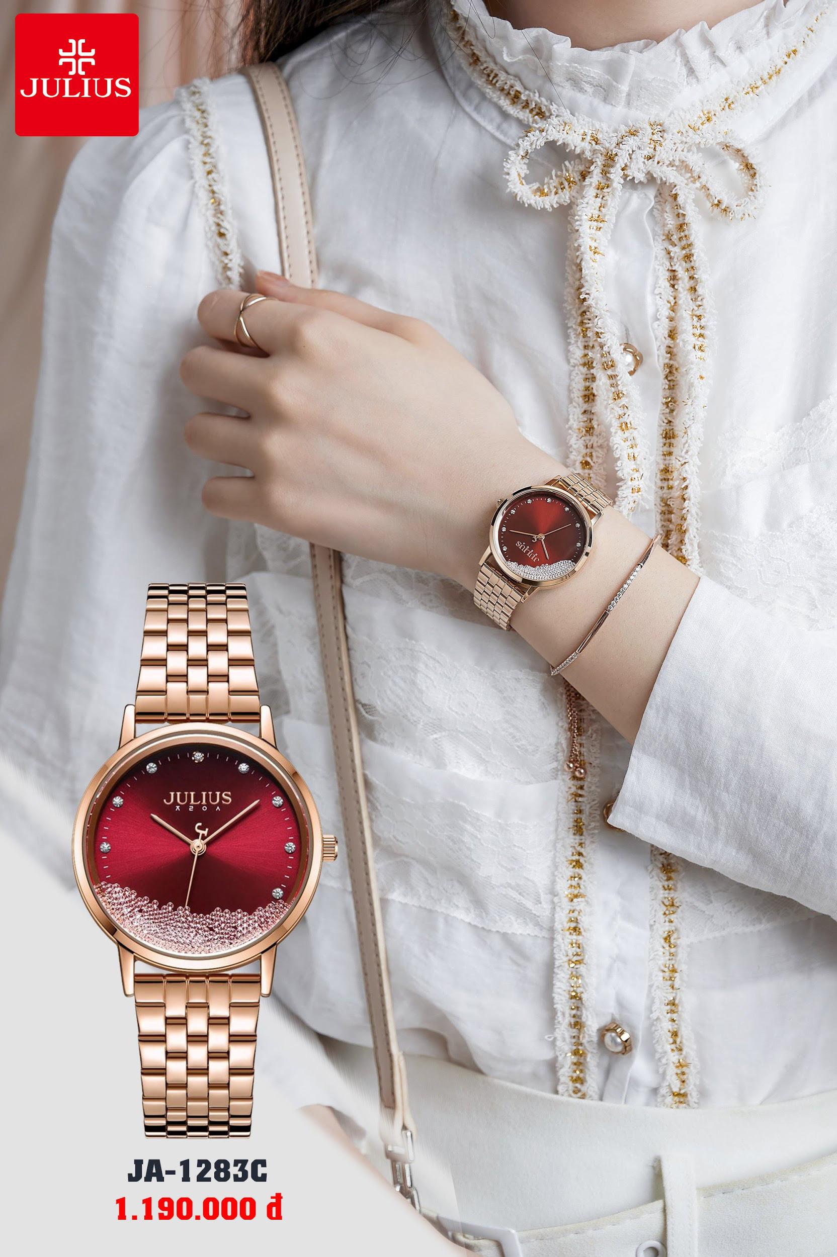 Đồng hồ thời trang Julius đẳng cấp - trao trọn yêu thương cho phái đẹp nhân ngày 8/3 - Ảnh 2.