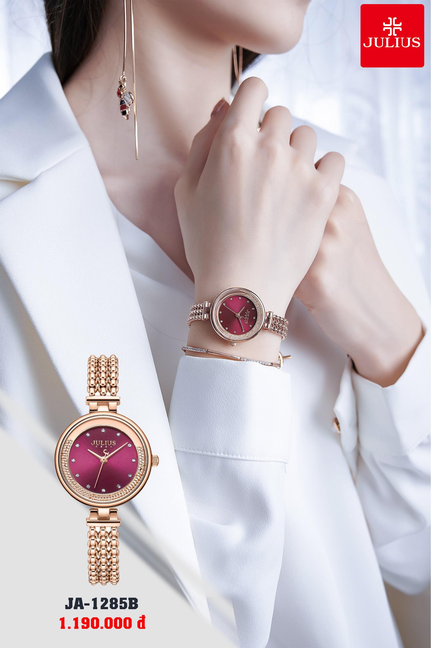 Đồng hồ thời trang Julius đẳng cấp - trao trọn yêu thương cho phái đẹp nhân ngày 8/3 - Ảnh 4.