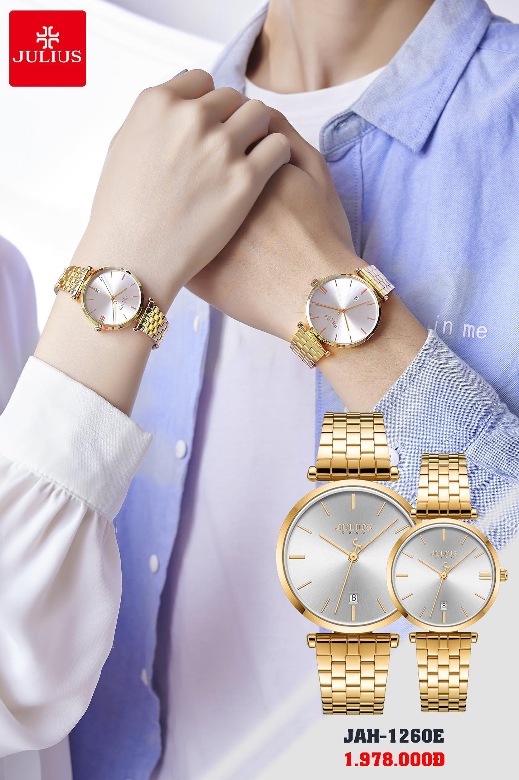 Đồng hồ thời trang Julius đẳng cấp - trao trọn yêu thương cho phái đẹp nhân ngày 8/3 - Ảnh 5.
