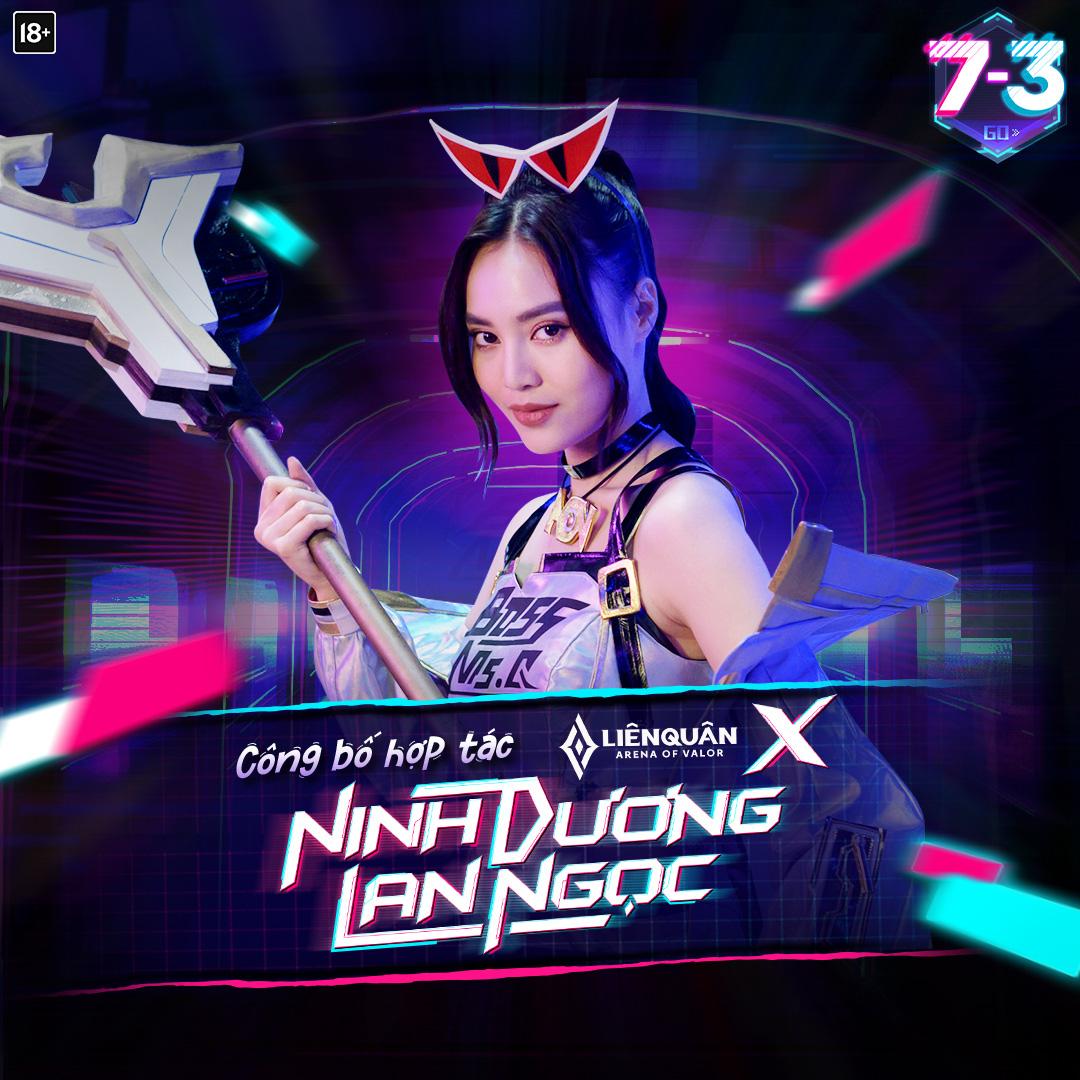 """Ninh Dương Lan Ngọc hóa thân thành """"Chị Đại"""" trong Liên Quân khiến game thủ chơi ngay chờ chi - Ảnh 1."""