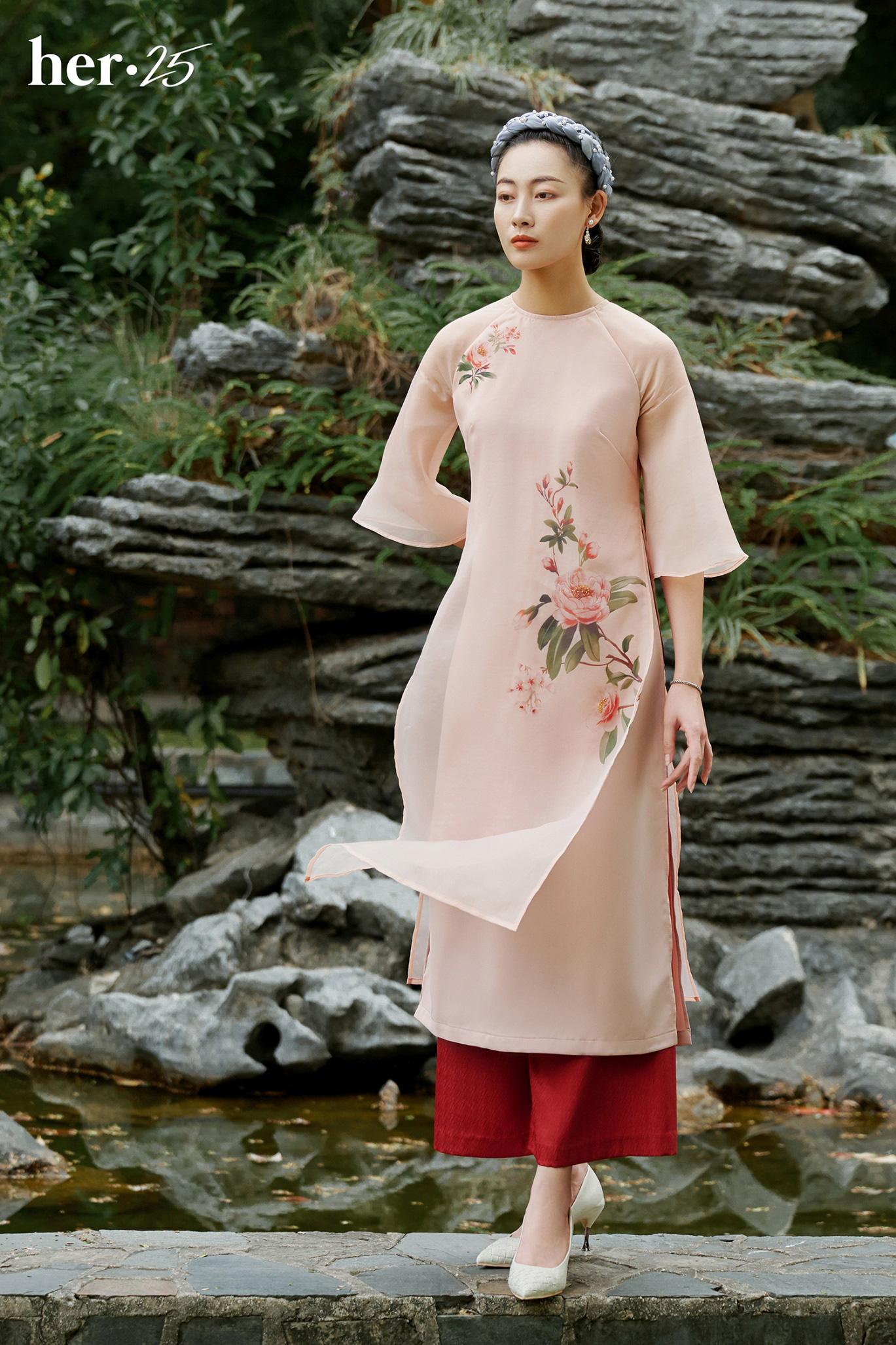 Tết mặc áo dài không mập với 5 tips dễ thử từ HER 25 - Ảnh 4.