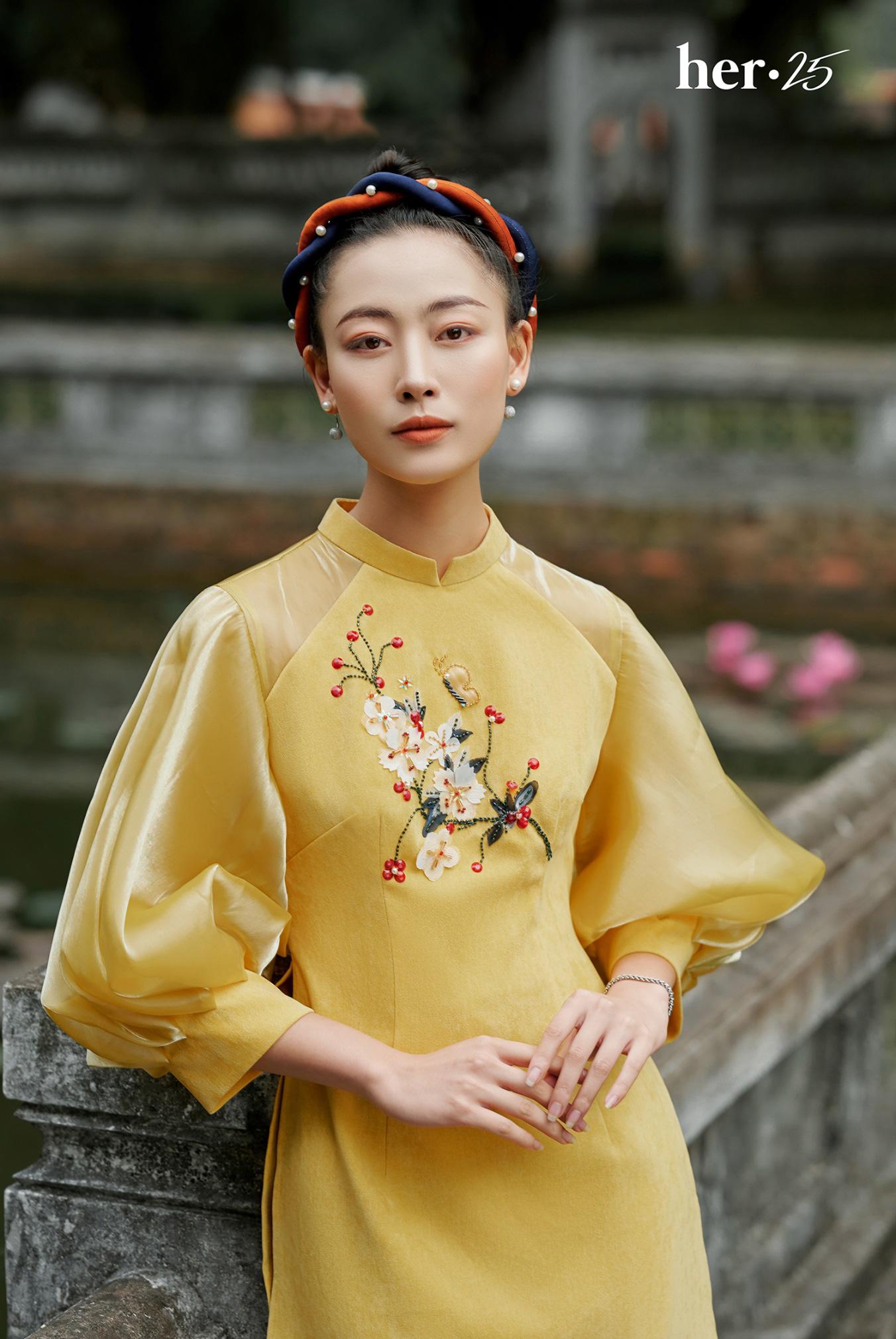 Tết mặc áo dài không mập với 5 tips dễ thử từ HER 25 - Ảnh 3.