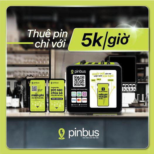 Pinbus - Ứng dụng tiên phong ngành cho thuê pin sạc chính thức hợp tác cùng VPBank - Ảnh 3.